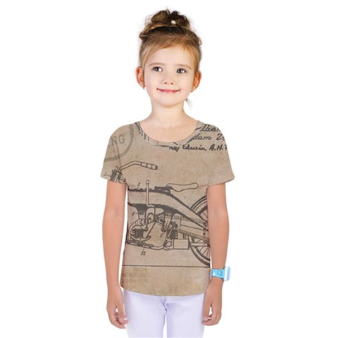 Motorcycle 1515873 1280 Kids  One Piece Tee by vintage2030