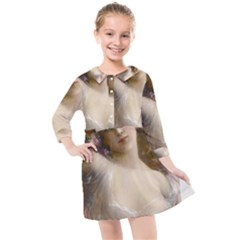 Vintage 1501594 1920 Kids  Quarter Sleeve Shirt Dress by vintage2030