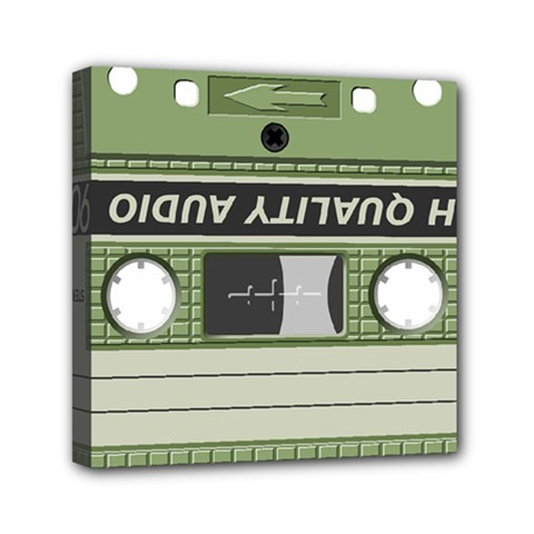Cassette 40267 1280 Mini Canvas 6  X 6  (stretched)