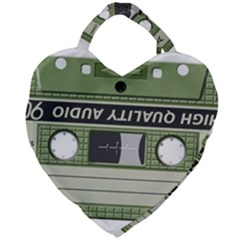 Cassette 40267 1280 Giant Heart Shaped Tote by vintage2030