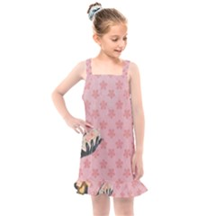 Vintage Lady Kids  Overall Dress