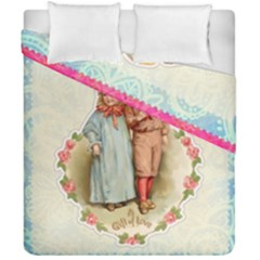 Kids Heart Duvet Cover Double Side (california King Size) by vintage2030