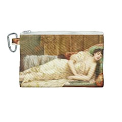 Vintage 1501595 1920 Canvas Cosmetic Bag (medium) by vintage2030