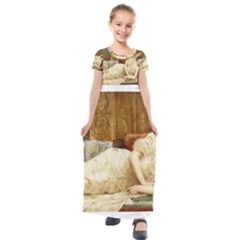 Vintage 1501595 1920 Kids  Short Sleeve Maxi Dress by vintage2030