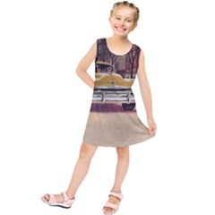 Retro Cars Kids  Tunic Dress by vintage2030