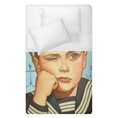 Retro Boy Duvet Cover (single Size) by vintage2030