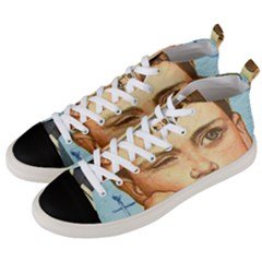 Retro Boy Men s Mid Top Canvas Sneakers by vintage2030