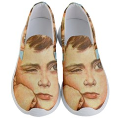 Retro Boy Men s Lightweight Slip Ons by vintage2030
