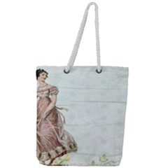 Background 1426677 1920 Full Print Rope Handle Tote (large) by vintage2030