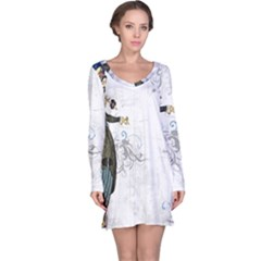 Vintage 1409215 1920 Long Sleeve Nightdress