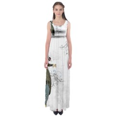 Vintage 1409215 1920 Empire Waist Maxi Dress
