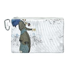 Vintage 1409215 1920 Canvas Cosmetic Bag (large)