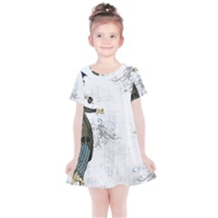 Vintage 1409215 1920 Kids  Simple Cotton Dress