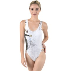 Vintage 1409215 1920 High Leg Strappy Swimsuit