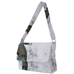 Vintage 1409215 1920 Full Print Messenger Bag