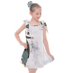 Vintage 1409215 1920 Kids  Tie Up Tunic Dress