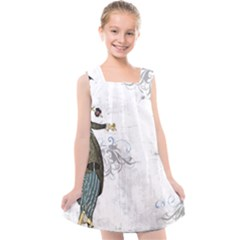 Vintage 1409215 1920 Kids  Cross Back Dress