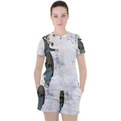 Vintage 1409215 1920 Women s Tee And Shorts Set