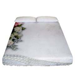 Background 1362160 1920 Fitted Sheet (queen Size)