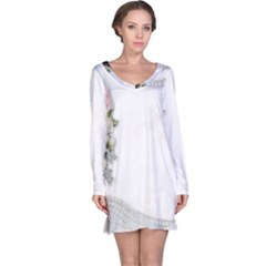 Background 1362160 1920 Long Sleeve Nightdress