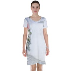 Background 1362160 1920 Short Sleeve Nightdress