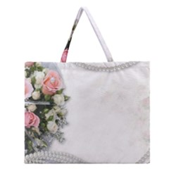 Background 1362160 1920 Zipper Large Tote Bag
