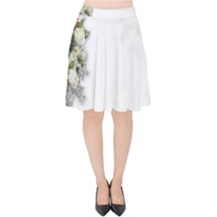 Background 1362160 1920 Velvet High Waist Skirt