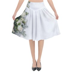 Background 1362160 1920 Flared Midi Skirt