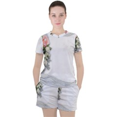 Background 1362160 1920 Women s Tee And Shorts Set