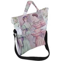 Vintage 1331476 1920 Fold Over Handle Tote Bag