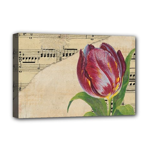 Tulip 1229027 1920 Deluxe Canvas 18  X 12  (stretched) by vintage2030