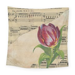 Tulip 1229027 1920 Square Tapestry (large) by vintage2030