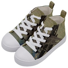War 1326244 1920 Kid s Mid Top Canvas Sneakers by vintage2030