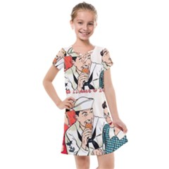 Retro 1326258 1920 Kids  Cross Web Dress by vintage2030