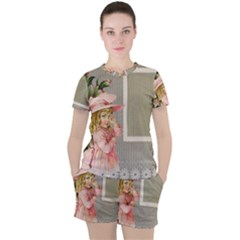 Background 1229025 1920 Women s Tee And Shorts Set