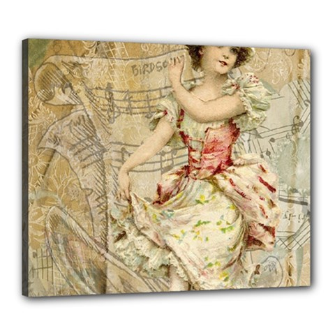Fairy 1229009 1280 Canvas 24  X 20  (stretched) by vintage2030