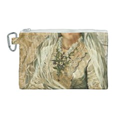Vintage 1229015 1920 Canvas Cosmetic Bag (large) by vintage2030