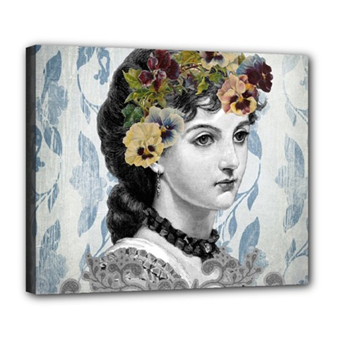 Vintage 1229006 1920 Deluxe Canvas 24  X 20  (stretched) by vintage2030