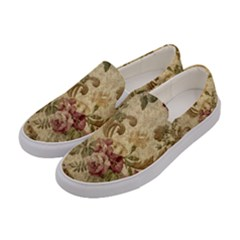 Background 1241691 1920 Women s Canvas Slip Ons by vintage2030