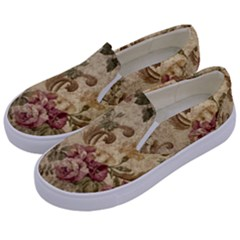 Background 1241691 1920 Kids  Canvas Slip Ons by vintage2030