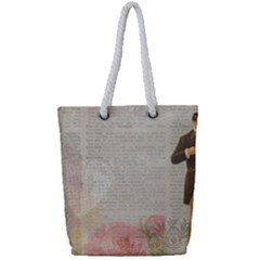 Background 1227545 1280 Full Print Rope Handle Tote (small) by vintage2030