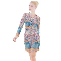Vintage 1203862 1280 Button Long Sleeve Dress by vintage2030