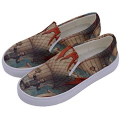 Vintage 1181673 1280 Kids  Canvas Slip Ons by vintage2030