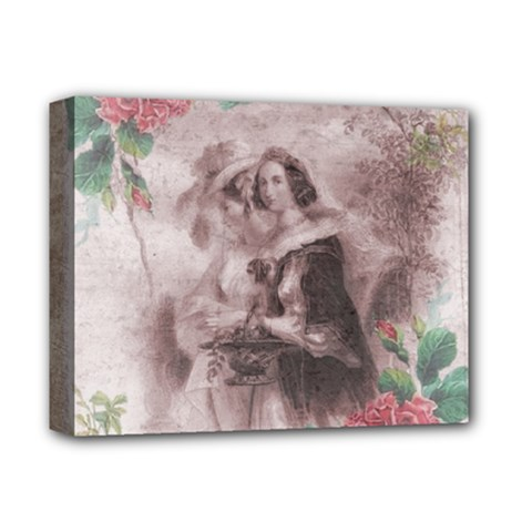 Vintage 1181680 1920 Deluxe Canvas 14  X 11  (stretched) by vintage2030