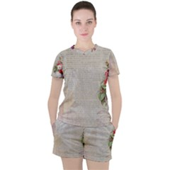 Background 1227577 1280 Women s Tee And Shorts Set