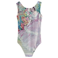 Vintage 1203865 1280 Kids  Cut Out Back One Piece Swimsuit