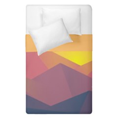 Image Sunset Landscape Graphics Duvet Cover Double Side (single Size) by Sapixe