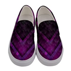 Background Wallpaper Motif Design Women s Canvas Slip Ons