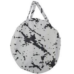 Fabric Textile Texture Macro Model Giant Round Zipper Tote