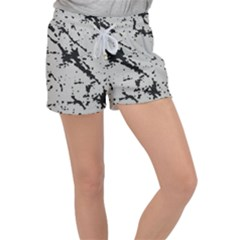 Fabric Textile Texture Macro Model Women s Velour Lounge Shorts